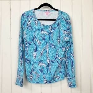 Lilly Pulitzer Kingsley Sweatshirt Nice Tail